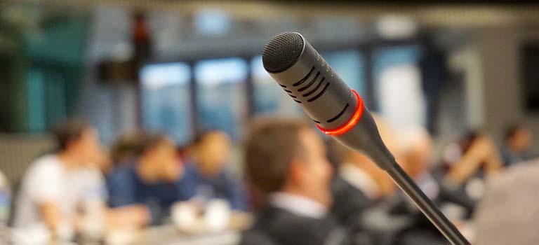 Eines de comunicació per intervencions públiques