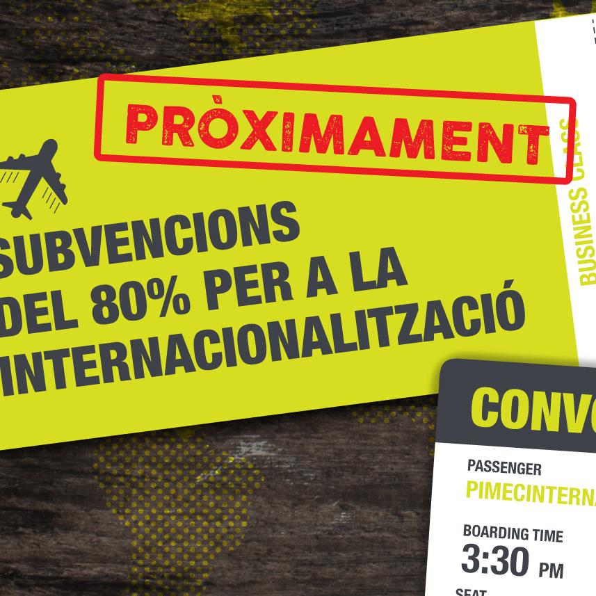 cupones a la internacionalización