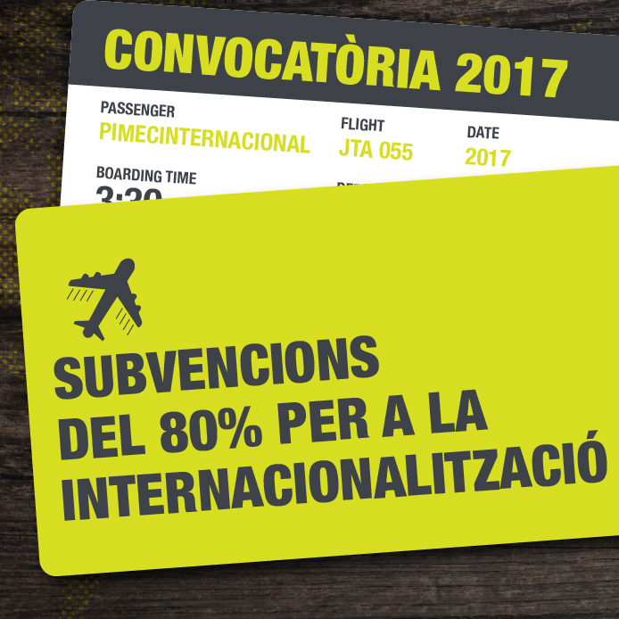 cupons internacionalització