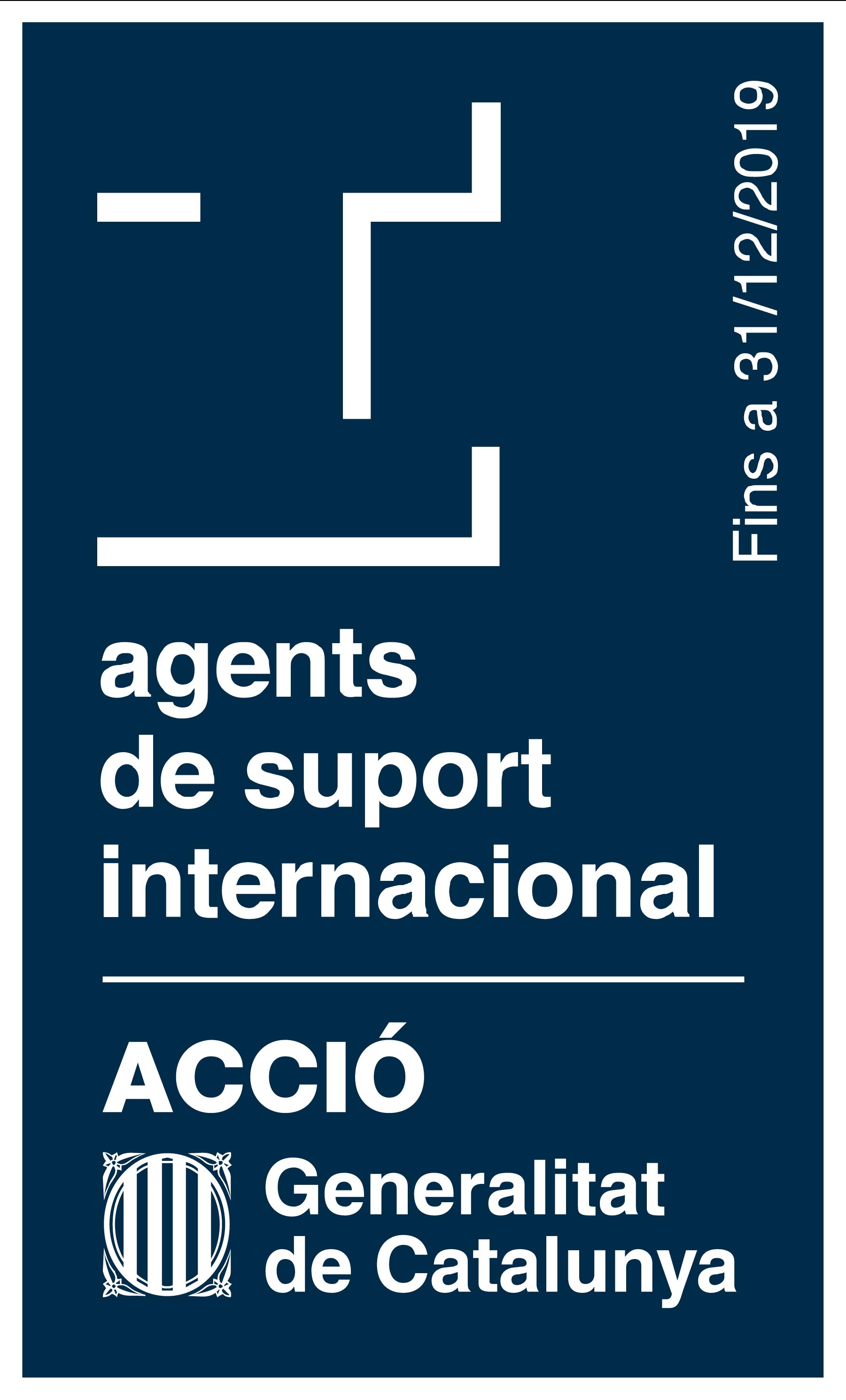 Segell suport a la internacionalització