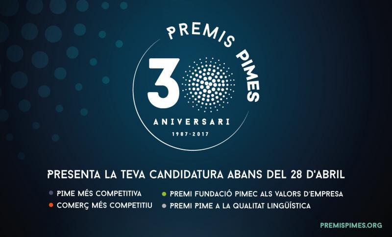 30 Aniversari Premis Pimes