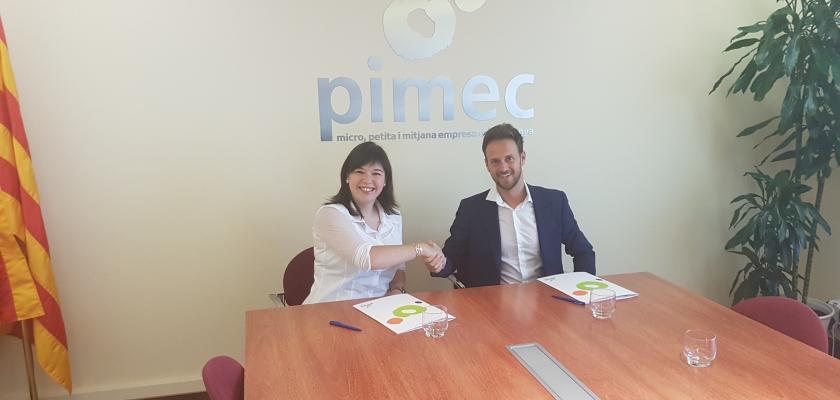 Aliança entre PIMEC Joves i la Jove Cambra Internacional de Catalunya